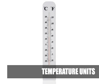 UNIT CONVERTER TEMPERATURE